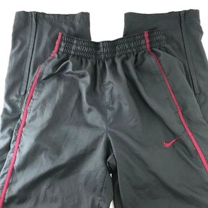 Nike Dri-Fit Track Warm-Ups Athletic Pants Gray